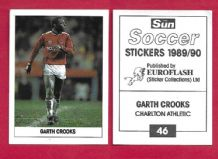 Charlton Athletic Garth Crooks 46